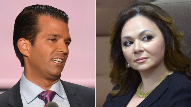 Trump 'dictated' son's statement on Russian lawyer meeting