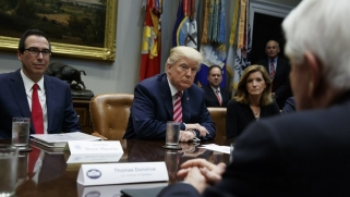 Trump's possible China tariffs send opponents scrambling