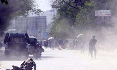 Double Kabul suicide bombing kills 25, including journalists
