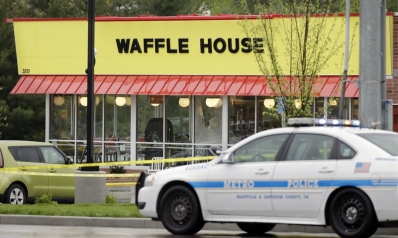 Waffle House suspect still being sought; residents on alert