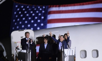 Trump: NK 'excellent' to detainees, Pence hints otherwise