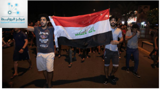 Who benefits internally and regionally from the protest movement in Iraq?