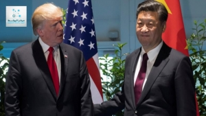 Trade war between America and China