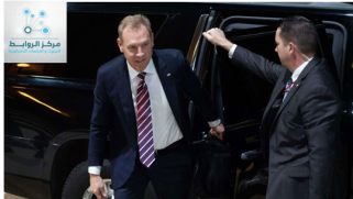 About Patrick shanahan's visit to Baghdad
