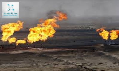 Iraq's wealth of gas …The more oil production the more gas is burned