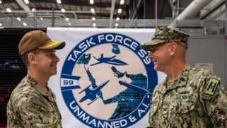 New Navy Task Force Aims to Deter Iran with Unmanned Systems