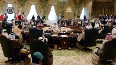 دعم خليجي كامل للسيسي ومطالبة الحوثيين بانسحاب سريع من المحافظات اليمنية