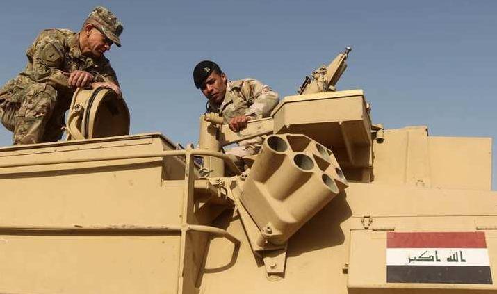 هل تدفع أمريكا بمستشارييها العسكريين في العراق إلى الخطوط الأمامية؟