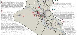 تقرير يكشف الوضع في العراق خلال يومي 22-24 نيسان/ابريل 2015