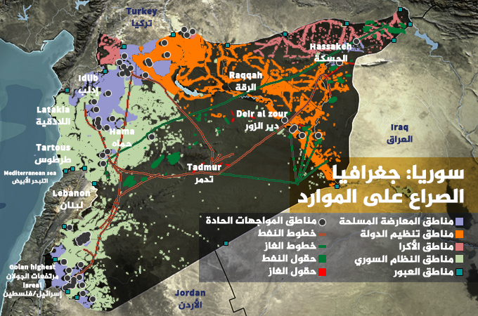 التشظي: ديناميات اقتصاد الحرب بسوريا