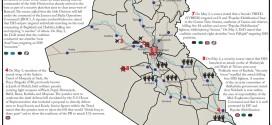 تقرير يكشف الوضع في العراق خلال الفترة 1-3 ايار/2015
