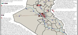 تقرير يكشف الاوضاع في العراق خلال الفترة 11-13 ايار/2015