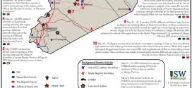 تقرير لمعهد الدراسات الامريكي للحرب يكشف الوضع في سورية خلال الفترة 21-26 ايار/ 2015