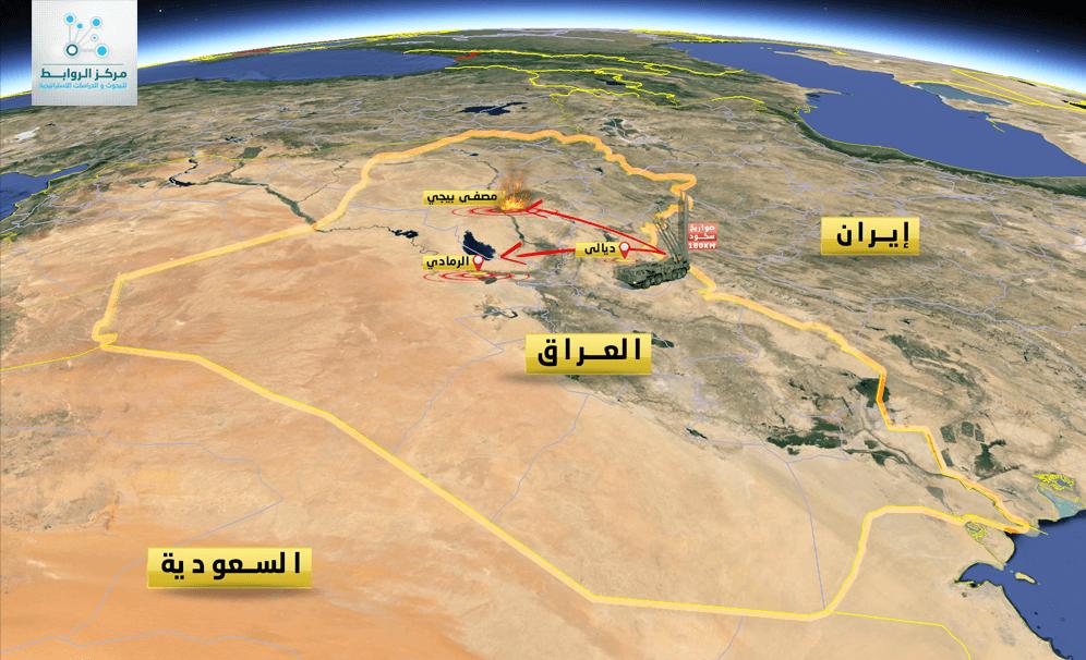 صواريخ سكود والدور الايراني المتقدم في العراق