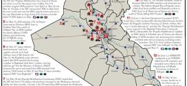 تقرير يكشف الوضع في العراق خلال الفترة 29/ايار الى 1 حزيران/ 2015