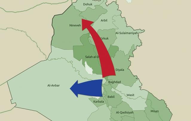 الأنبار أولاً، والموصل أبداً؟ استراتيجية العراق لإلحاق الهزيمة بـ تنظيم «الدولة الإسلامية»