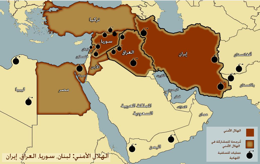تحطيم إيران بتفتيت المشرق