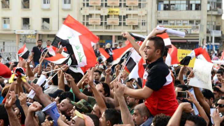 """الحراك الوطني في العراق يهدد إمبراطورية """"قاسم سليماني"""""""