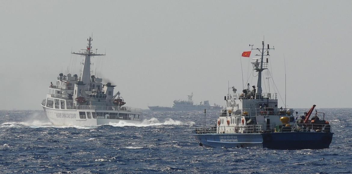 الصين والبحر الأزرق العميق