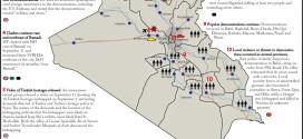 تقرير يكشف الوضع في العراق من الفترة 11-14 ايلول 2015