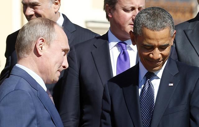 قضايانا بين أوباما وبوتين