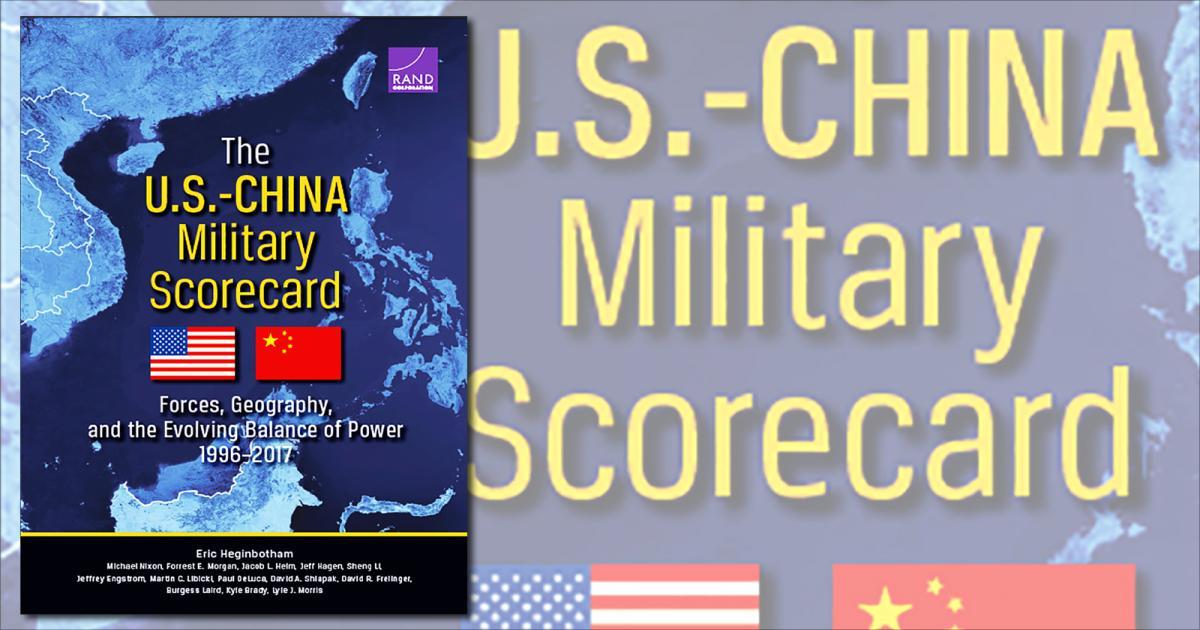 سجل الأداء العسكري للولايات المتحدة والصين