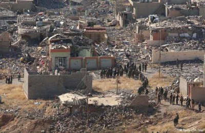 سنجار بعد التحرير… دمار وأنقاض في كل مكان