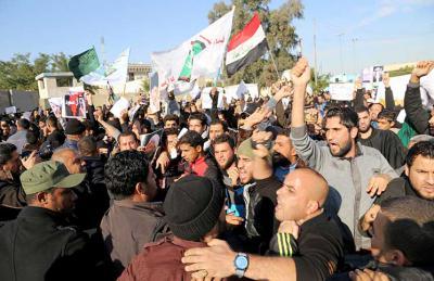 أزمات العراق الأمنية والتوتر الطائفي في تزايد
