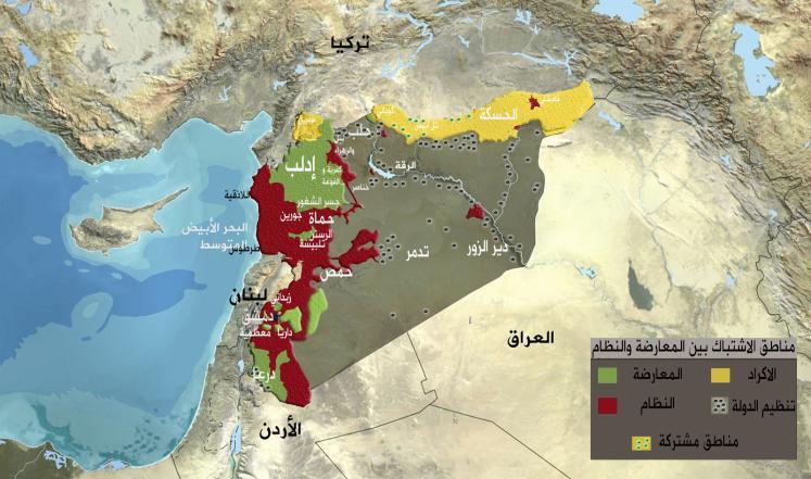 هل تسوق واشنطن لتفكيك سوريا؟