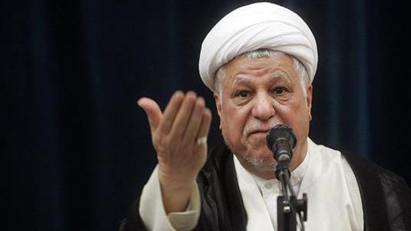 """رفسنجاني يحذر نظام إيران من عصيان شعبي وصفه بـ""""الشر"""""""