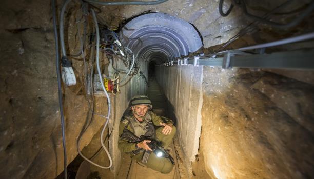 الخيارات الإسرائيلية تجاه أنفاق غزة