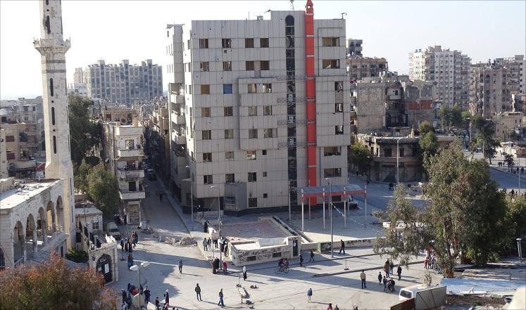 حصار مباغت لعشرات الآلاف بحي برزة الدمشقي