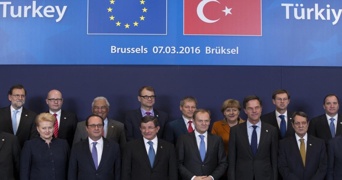 الاتفاق الأوروبي التركي بشأن اللاجئين