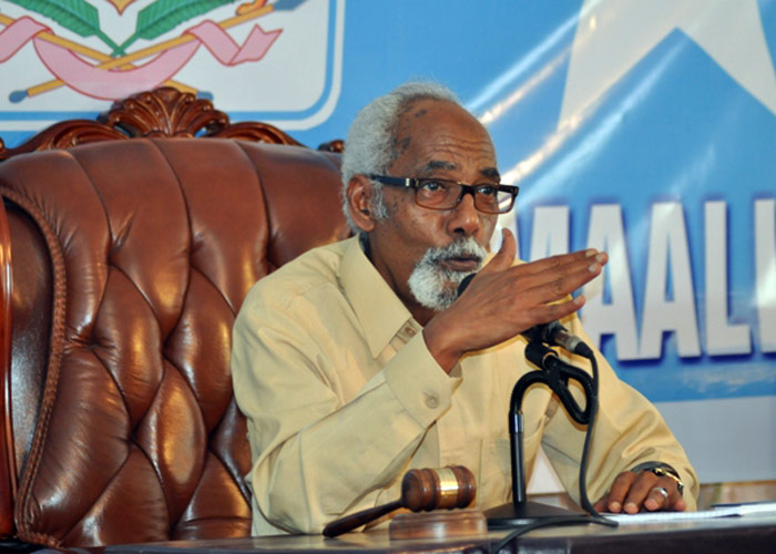 رئيس برلمان الصومال: غاب العرب فحضر الأتراك بقوة