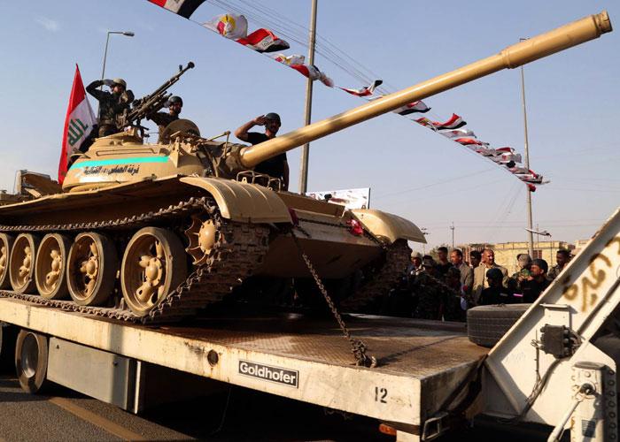 الجيش العراقي يستنجد بالسيستاني لاستعادة دباباته من الميليشيات