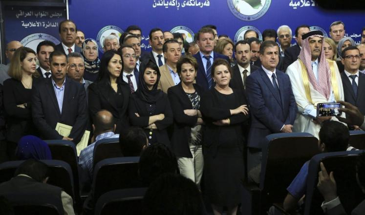 دستورية مطالب النواب المعتصمين تثير الجدل بالعراق