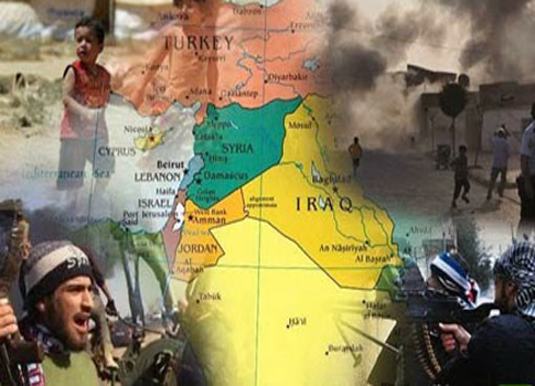 نيران الشرق الأوسط