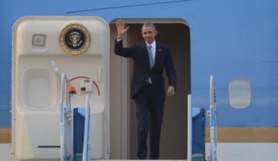 أوباما في جولة الوداع