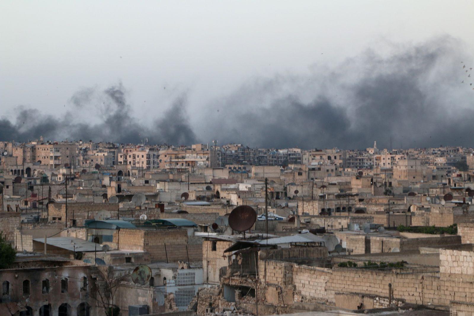 حلب تتحدى إصرار روسيا على فرض إرادتها على السوريين