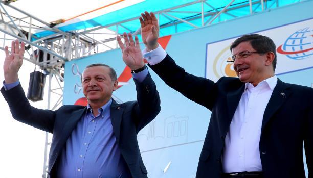 أردوغان وأوغلو.. خلاف متوقع