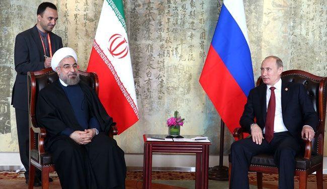 الرئيسان الايراني والروسي