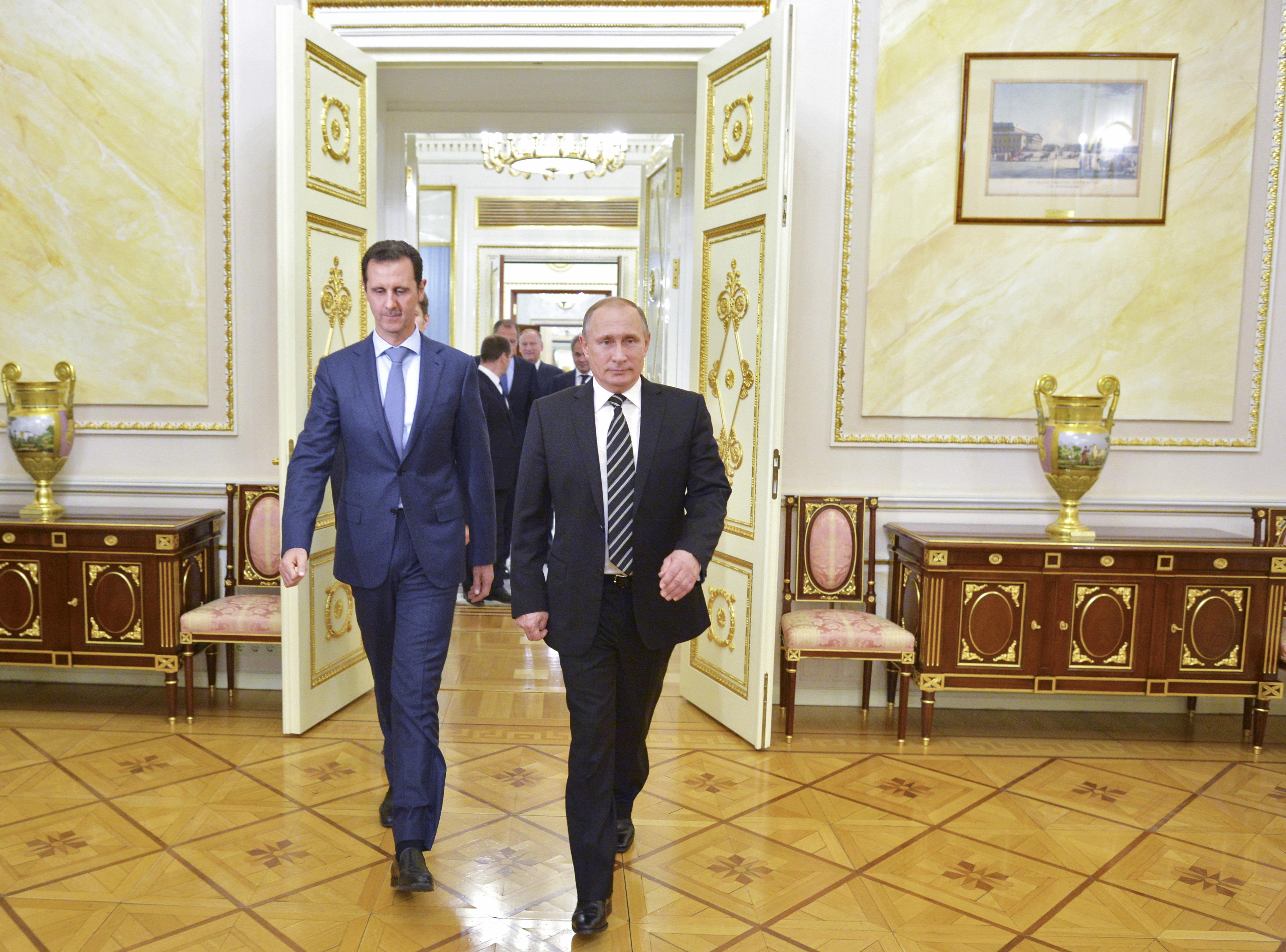 بوتين ولعبة الشطرنج في سورية