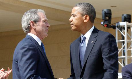 Obama Bush