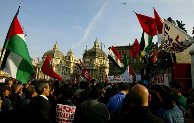 PalestinianProtestEuropeRomeBDSRTR3BU0-639x405