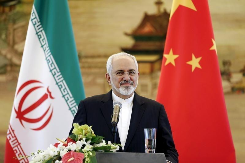 Iranian Foreign Minister Mohammad Javad Zarif answers questions during a news conference after meeting with Chinese Foreign Minister Wang Yi in Beijing, China September 15, 2015. REUTERS/Lintao Zhang/Pool