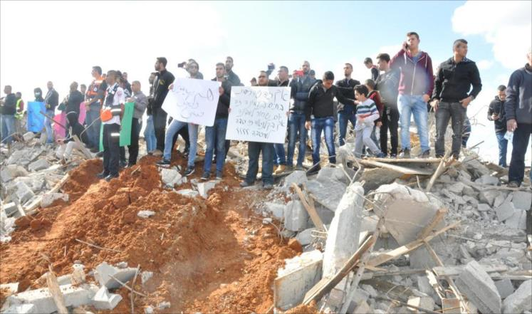 دعوات لحماية دولية لفلسطينيي 48