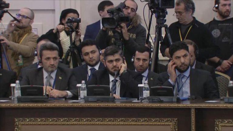 """مفاوضات أستانا.. تثبيت التهدئة واستثناء """"تنظيم الدولة"""" و""""فتح الشام"""""""