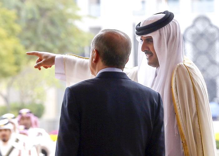 طموح أردوغان وروحاني يلتقي عند مفترق طرق خليجي