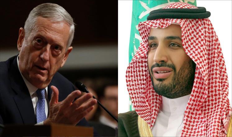 السعودية وأميركا تؤكدان رفض تدخل إيران بالمنطقة