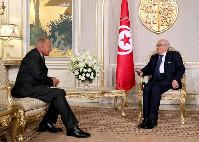 السبسي يثني على أداء الجامعة العربية
